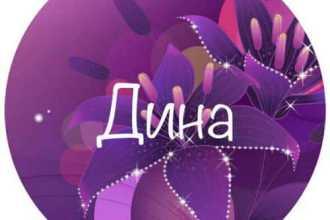 Какая тайна таится в имени Дина – особенности темперамента и души