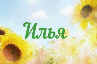День Ангела Ильи по Православным святцам