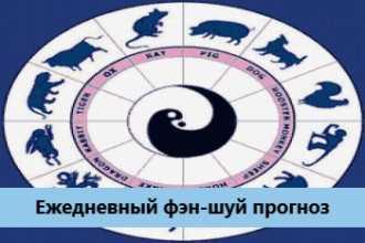 Ежедневный фэн-шуй прогноз на 15-01-2021