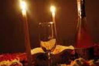 Магический ужин при свечах