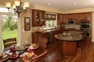 Правила расположения и цвет кухни по фен шуй