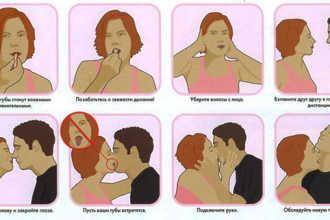Как правильно целоваться в первый раз: рекомендации для первого поцелуя
