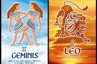 Совместимость между Близнецами и Львом: из огня да в полымя