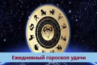Ежедневный гороскоп удачи на 15-01-2021