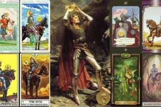 Рыцарь Пентаклей (Всадник, Рыцарь Монет) — толкование карты