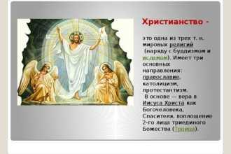Христианство и православие: в чем разница, основные отличия