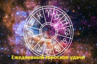 Ежедневный гороскоп удачи на 14-01-2021