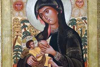 Икона Млекопитательница: значение, молитва, в чем помогает