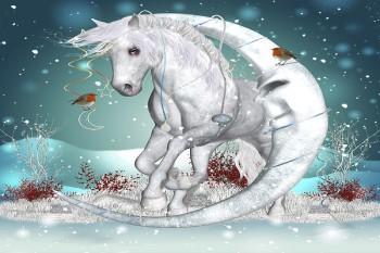 Чем и как наряжать елку в год лошади 2026?