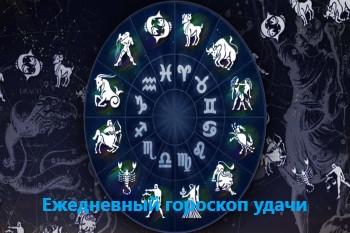 Ежедневный гороскоп удачи на 15-10-2021